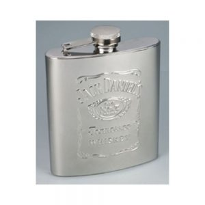 Jack Daniel's Stainless Steel 7 oz. Whiskey Flask
