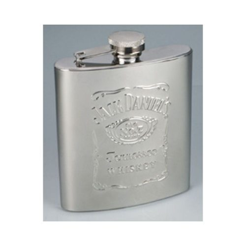 Jack Daniel's Stainless Steel Whiskey Flask