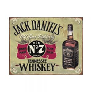 Jack Daniel's – Hand Made Tin Sign