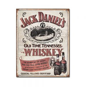 Jack Daniel's – Old Time Tennessee Whiskey Tin Sign