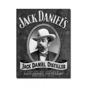 Jack Daniel's – Portrait Tin Sign