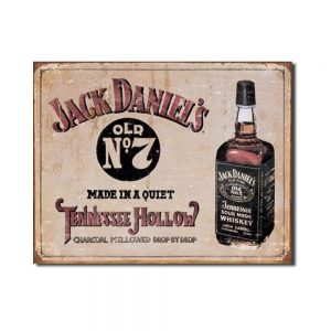 Jack Daniel's – Tennessee Hollow Tin Sign
