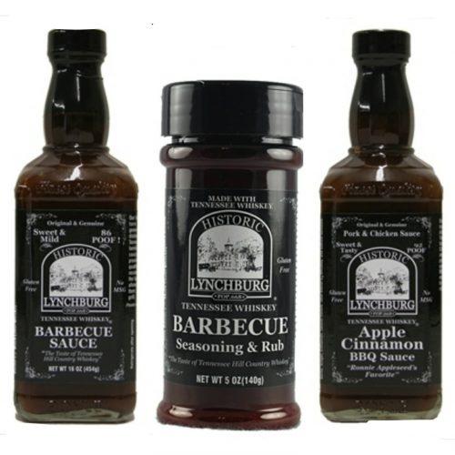 Jack Daniels BBQ Sauce Trio