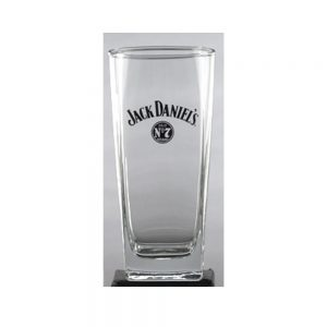 JACK DANIEL'S LOGO TALL ROCKS GLASS