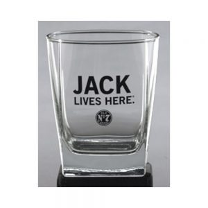 JACK LIVES HERE DOF GLASS