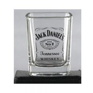 JACK DANIEL'S LABEL LOGO SHOT GLASS