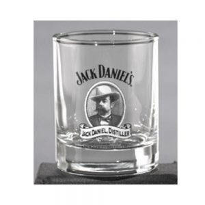 Mr. Jacks Cameo Shot Glass