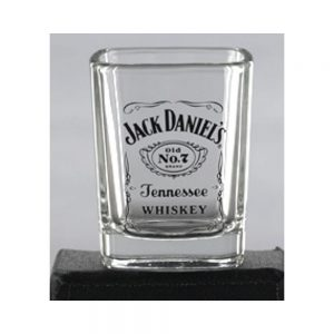 JACK DANIEL'S LABEL LOGO SHOT GLASS
