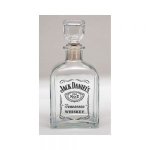Jack Daniel's Label Logo Decanter