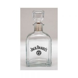 JD BUG SWING LOGO DECANTER