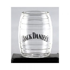 Jack Daniel's Glass Barrel Shot Glass