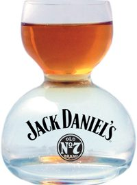 Jack Daniel's Whiskey on Water Glass – Small