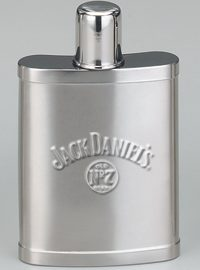 *Jack Daniel's 7 OZ Satin Hip Flask