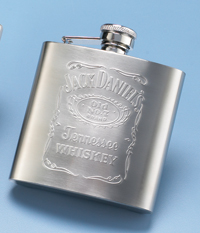 Jack Daniel's Embossed Matte Flask