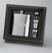 JACK DANIEL'S FLASK/SHOT/FUNNEL GIFT SET