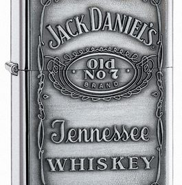 Jack Daniels Label-Pewter Emblem