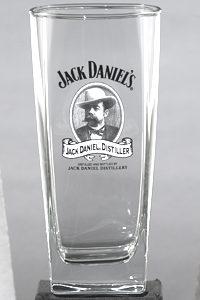 JACK DANIEL'S CAMEO TALL ROCKS GLASS