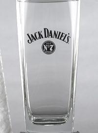 JACK DANIEL'S LOGO TALL ROCKS GLASS