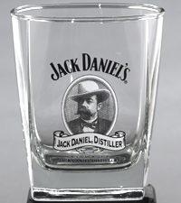 Jack Daniel Cameo DOF Glass