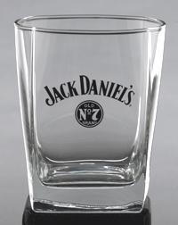 JACK DANIEL'S LOGO DOF GLASS