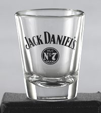 JACK DANIEL'S LOGO SHOT GLASS
