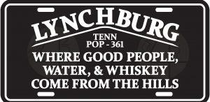 Lynchburg License Plate