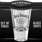 Set of 3 Jack Daniel's Shot Glasses