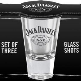 Set of 3 Jack Daniel's Shot Glasses