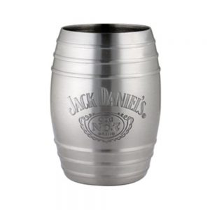 JD Barrel Shot, Cartouche Logo