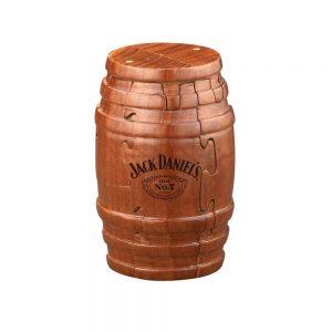 Jack Daniel's Wooden Barrel Puzzle