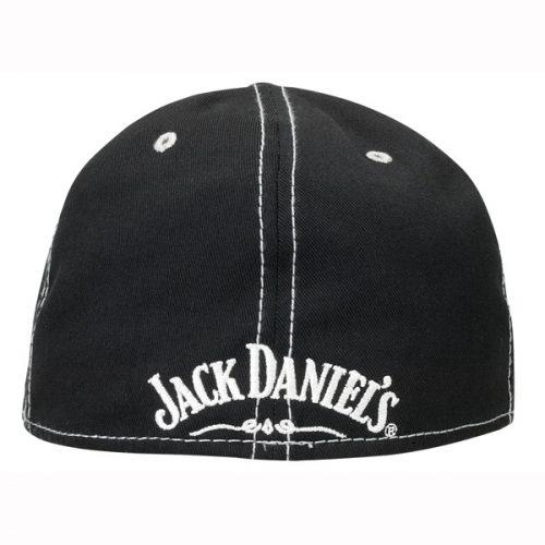 Striped No 7 Brand Hat