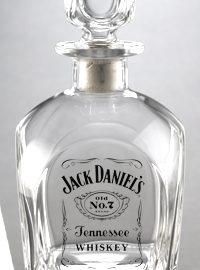 Jack Daniel's Label Logo Decanter
