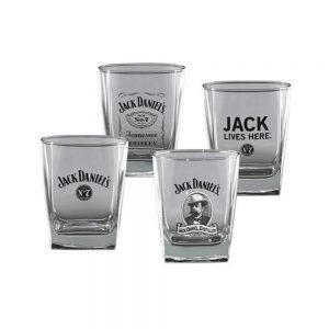 Jack Daniel's Set of 4 Glasses