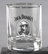 Mr. Jacks Cameo Shot Glass