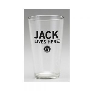 Jack Lives Here Mixing Glass