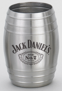 MEDIUM JACK DANIEL'S BARREL SHOT GLASS