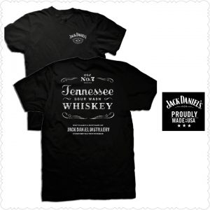 Jack Daniel's Tennessee Sour Mash Whiskey Shirt