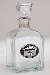 Jack Daniel's Decanter With Medallion