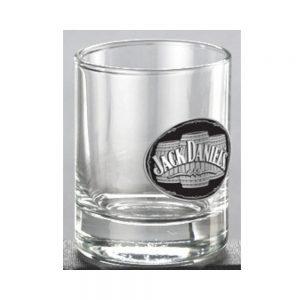Jack Daniel's Glass Shot W/Medallion