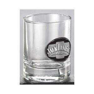 Jack Daniel's Medallion Glass Shot