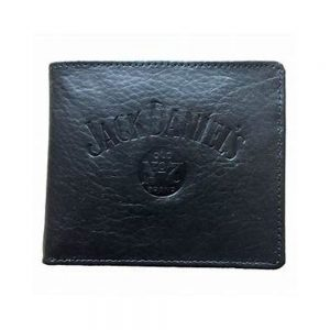 JD Black Leather Wallet