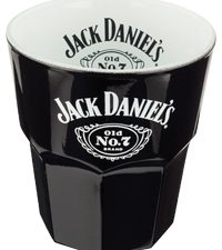 Jack Daniels Black DOF glass