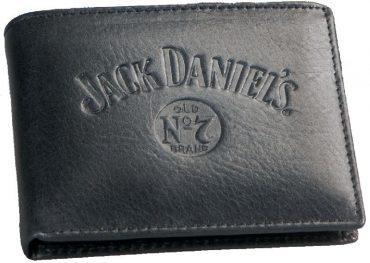 JD Black Leather Wallet
