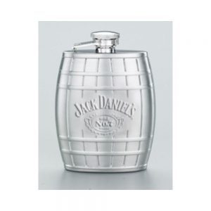 Jack Daniel's Embossed Barrel Flask