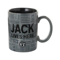 Jack Lives Here Mug