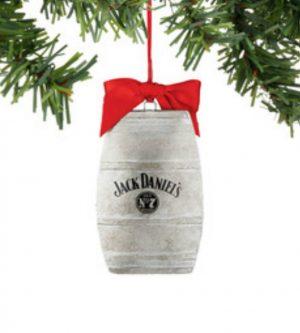Jack Daniel's Barrel Ornament