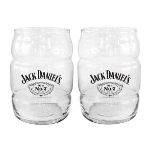 Jack Daniel's Barrel Glass Set