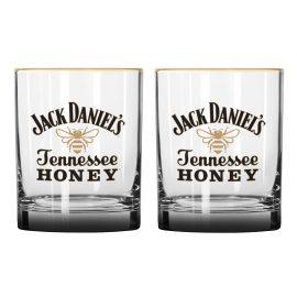JD Honey Rocks Glass