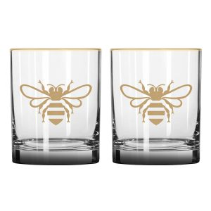 JD Honey Rocks Glass