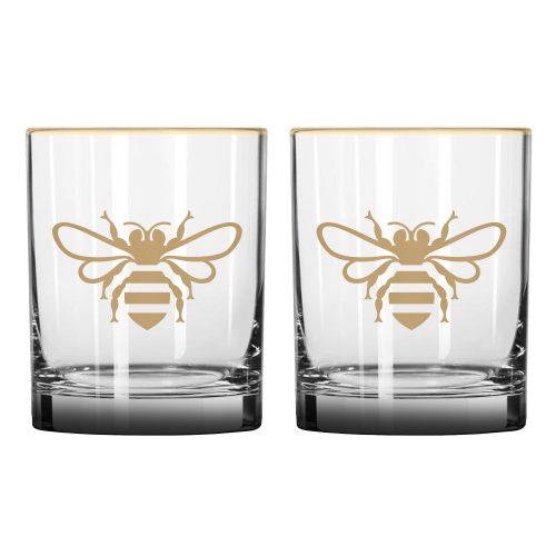 Jack Daniels Honey Rocks Glass